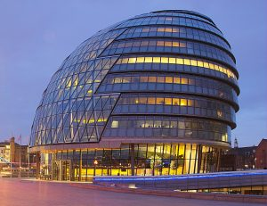 The City Hall which houses the Mayor of London's office